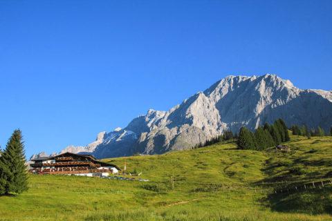 Berglage - Alpengasthof Kopphütte