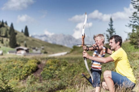 Bogenparcours - Sommerurlaub am Hochkönig, Salzburger Land