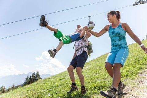 Familienerlebnis - Sommerurlaub am Hochkönig, Salzburger Land