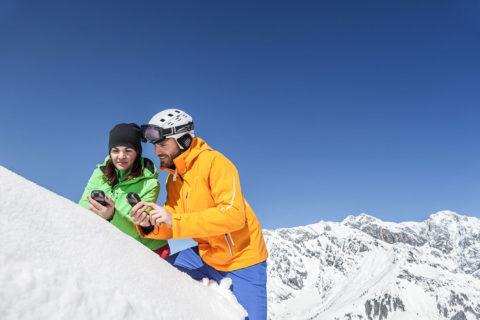 Geocaching - Winterurlaub in der Urlaubsregion Hochkönig, Ski amadé