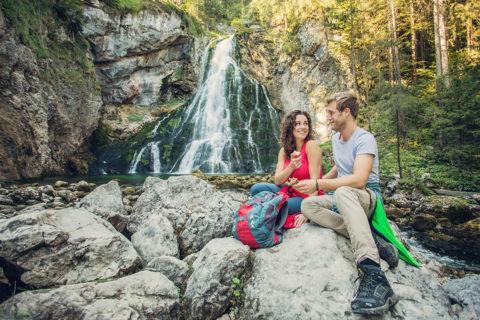 Gollinger Wasserfall - Ausflugsziel im Salzburger Land