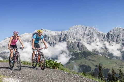Mountainbiken - Sommerurlaub am Hochkönig, Salzburger Land