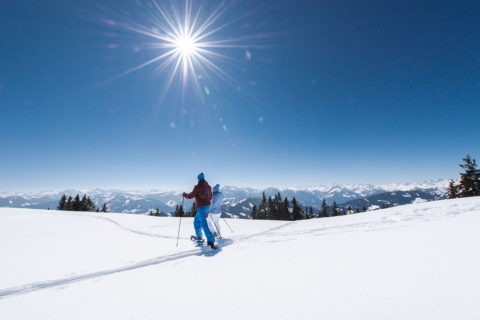 Schneeschuhwandern - Winterurlaub in der Urlaubsregion Hochkönig, Ski amadé