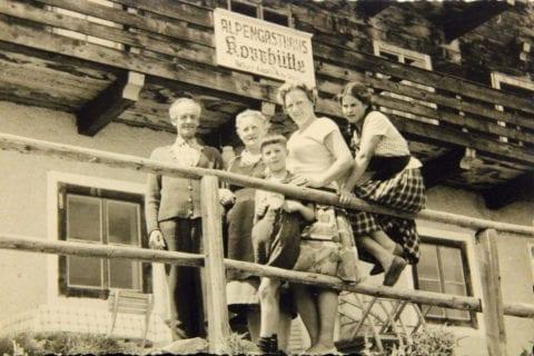 Tradition - Alpengasthof Kopphütte in Mühlbach am Hochkönig